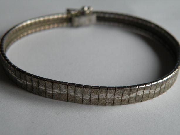 srebrna bransoletka proba 925 a9