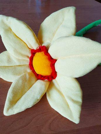 "Мягкая игрушка говорящая ""Я тебя люблю"", мягкий цветок"
