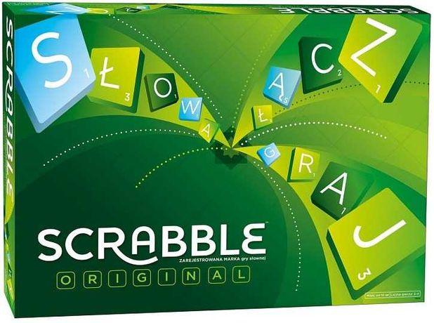 Scrabble nowe + gratis gra Lubisie