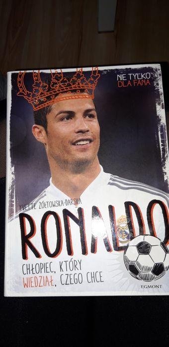 """Książka """"Ronaldo. Chłopiec, który wiedział,czego chce"""". Mysłowice - image 1"""