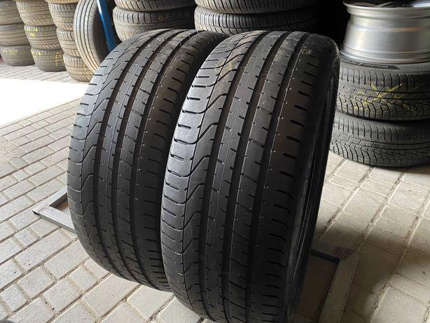 лето 245/45/R20 6,2мм 2017г Pirelli P Zero 2шт шины шини летние