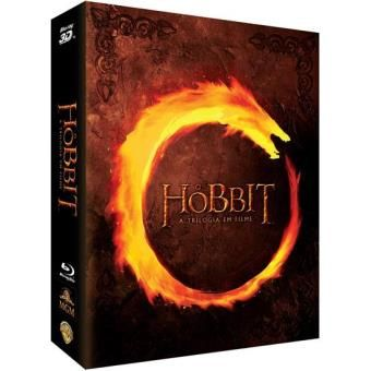 The Hobbit - Trilogia DeLuxe Box Set Blu-ray 3D + 2D