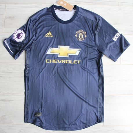 MANCHESTER United 3rd 18/19 Adidas Authentic, #7 Alexis, roz. XL