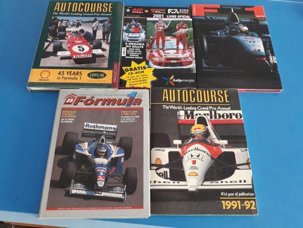 Livros de Formula 1 - Colecção Rara