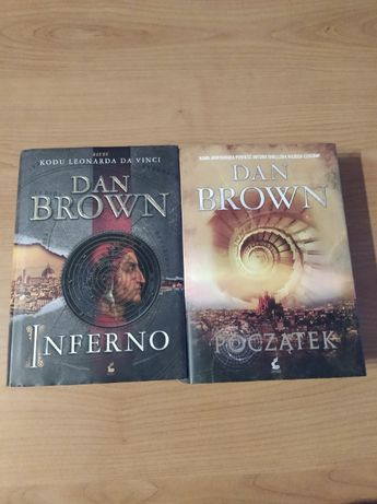 "Dan Brown ,,Inferno"" + ,,Początek"""
