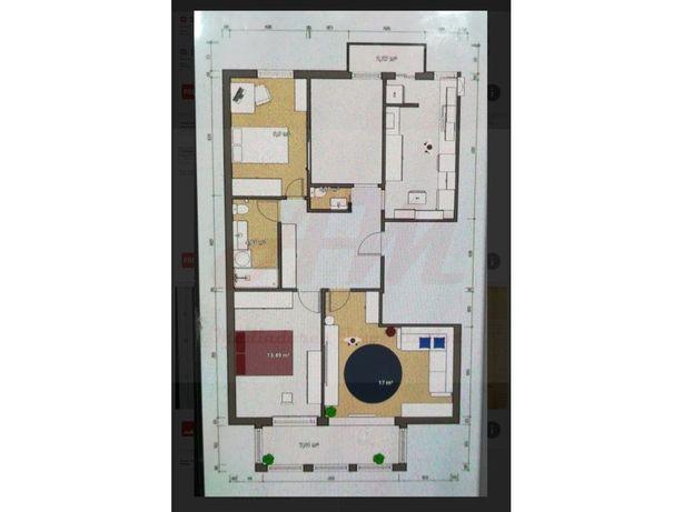 Apartamento T3 nas Laranjeiras