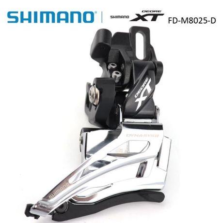 Przerzutka przednia Shimano Deore XT M8025D
