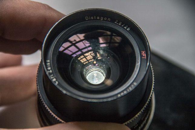 Carl Zeiss HFT Distagon f2.8 25mm // Rosca M42