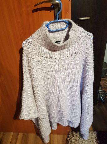 Ponczo reserved , narzutka, sweter, płaszcz