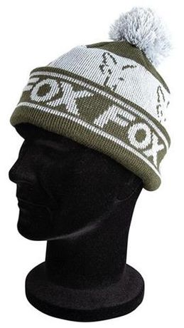 Fox Green/Silver Lined Booble Hat