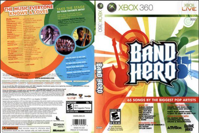 Jogo Band Hero XBOX 360