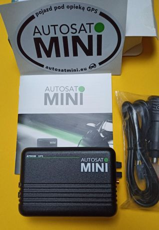 Rejestrator - Lokalizator GPS Autosat mini - nowy