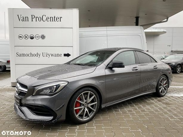 Mercedes-Benz CLA 45AMG, salon PL,FV23%, OD Dealera!!!