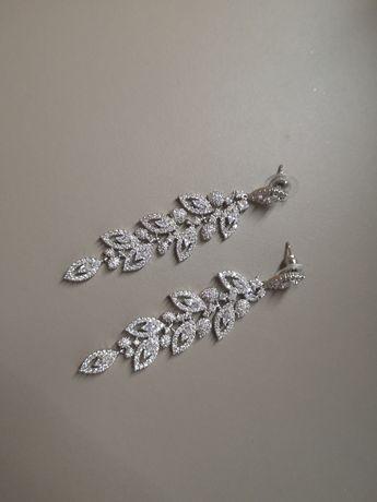 Kolczyki ślubne Silver