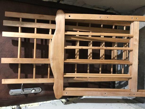 Срочно дёшево кроватка детская деревянная