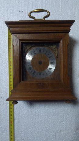 Stara sygnowana skrzynka zegara kominkowego