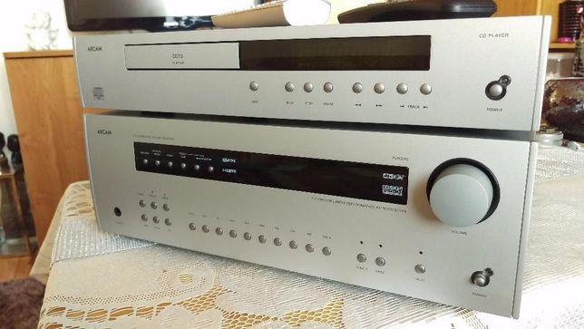 ARCAM SURROUND SOUND AVR280 + CD73 ,cena za zestaw ! TYLKO komplet