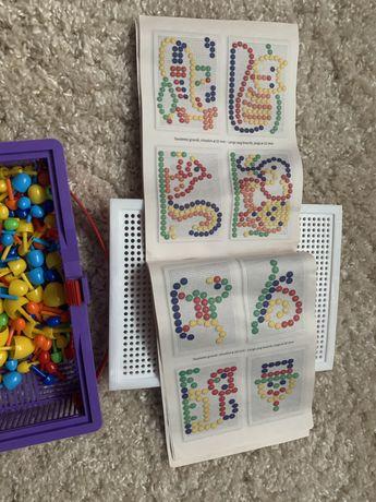 Детская мозаика fanta color guercetti  итальянская игрушка