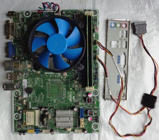 Core i3-3220T/IPM61-TB/4 Gb DDR3/SSD 60 Gb/блок питания