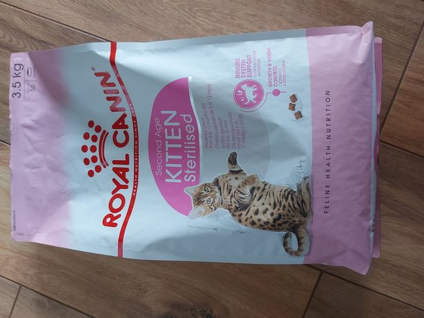 Karma dla kota Royal canon second Age kitten sterilised 3,5kg