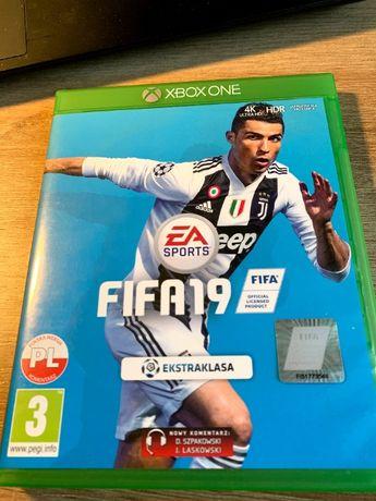 Gra FIFA 19 Xbox One - stan doskonały, polska wersja