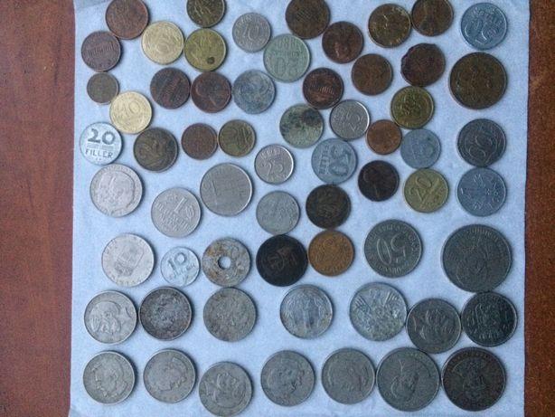 Stare monety polskie niemieckie rosyjskie