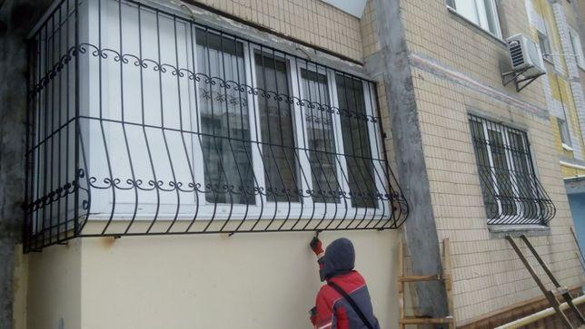 Решетки на окна.Cварочные работы.Качественно и в срок!