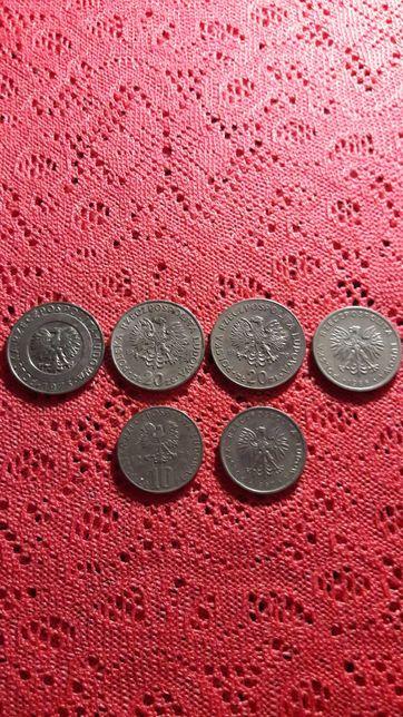 Злотые 4 монеты - 20 злотых, 2 монеты - 10 злотых. Цена за 6 монет