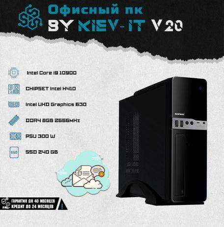 Офісний ПК - i9 10900 | H410 | Intel HD | DDR4 8GB | SSD 240 GB V20