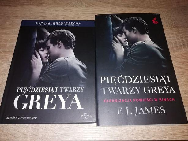 Pięćdziesiąt Twarzy Greya książka +film
