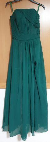 Vestido de cerimónia verde novo