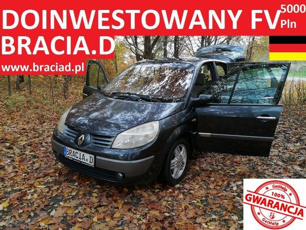 Grand Scenic 2,0 Benz 2004r SKÓRY PANORAMA KLIMA Zarejestrowany w PL