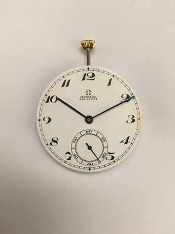 Vendo Máquina de Relógio de Bolso Mecânico Omega