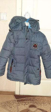 Зимняя куртка на мальчика рост 122 см