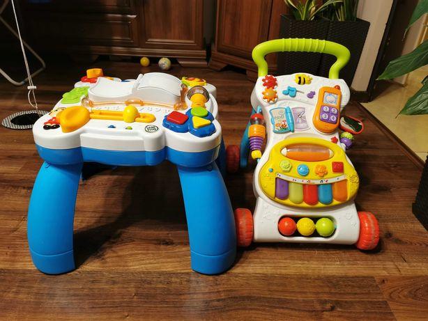 Stolik i pchacz dla dzieci