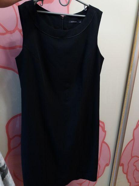 Черное платье Savage классическое  черный сарафан