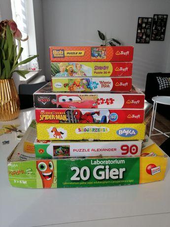 Puzzle i gry rozwijające dla dzieci