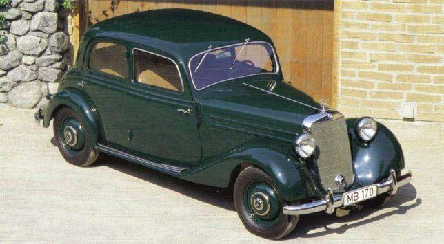 Radiador Mercedes 170 ano 1953