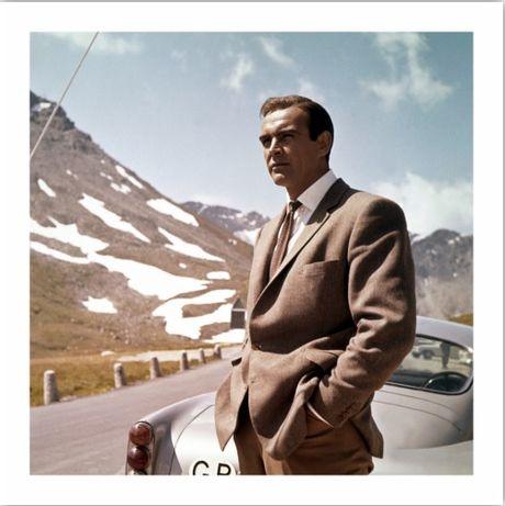 Foto Sean Connery James Bond Papel fotográfico Premium