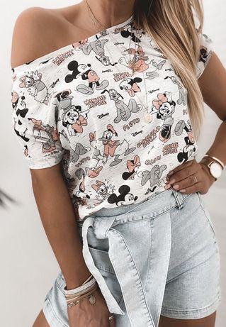 T-shirt bluzka Myszka Miki Mouse Mickey Disney S M L uni