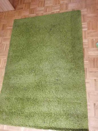 Dywan zielony prostokatny