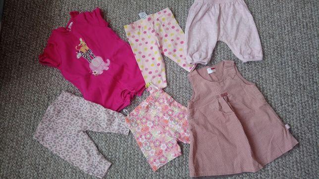 Worek ubrań dla dziewczynki w rozm. 0-12 m