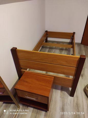 Meble łóżko jednoosobowe