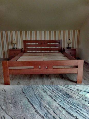 Łóżko Michał z dwiema szafkami nocnymi Modern! Stan Idealny!