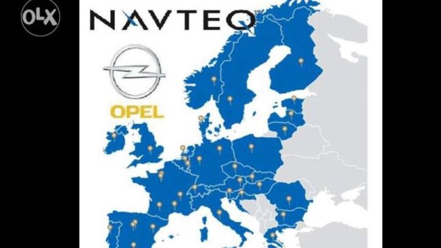 Polskie menu mapa Europy cd 70 dvd 90 Astra H Vectra C Zafira B Opel