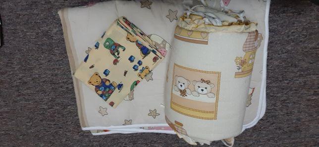 одеяло и пододияльник Ярослав + бортики на кроватку