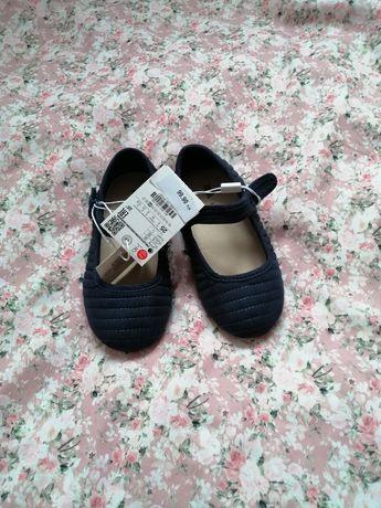 Zara Nowe piękne buty buciki balerinki 25