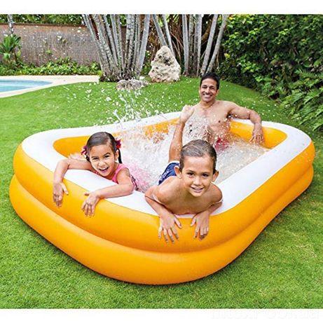Детский надувной бассейн intex 57181 Мандарин