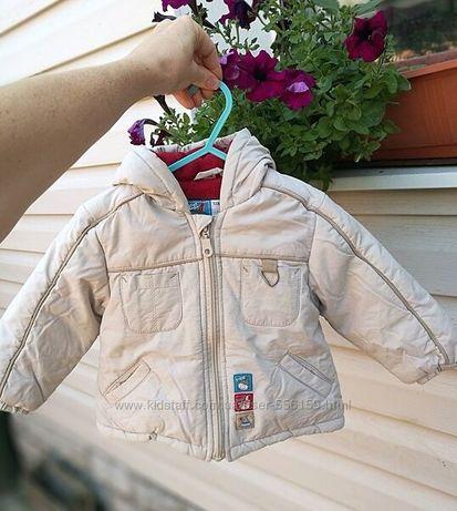 Куртка на холодную осень р. 86-92
