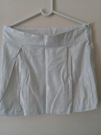 Spódnica biała